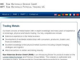 Raw Materials Broker