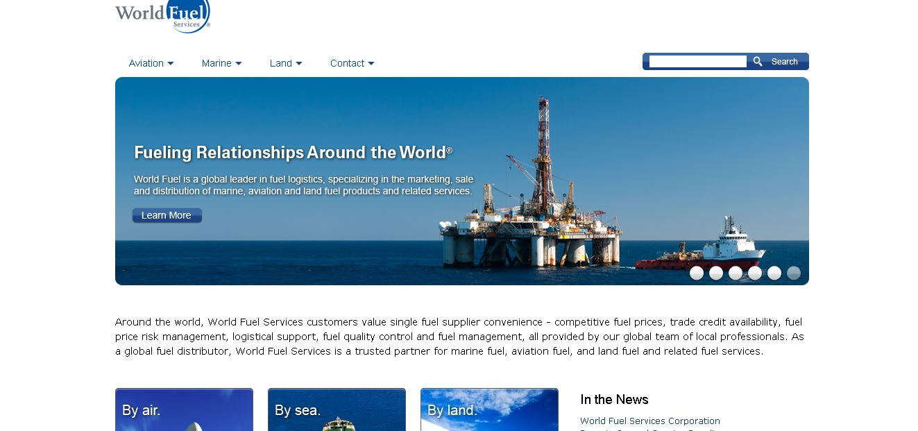 World Fuel Services Physical Commodities Traders Portal